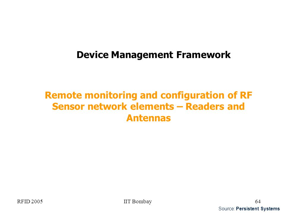 Device Management Framework