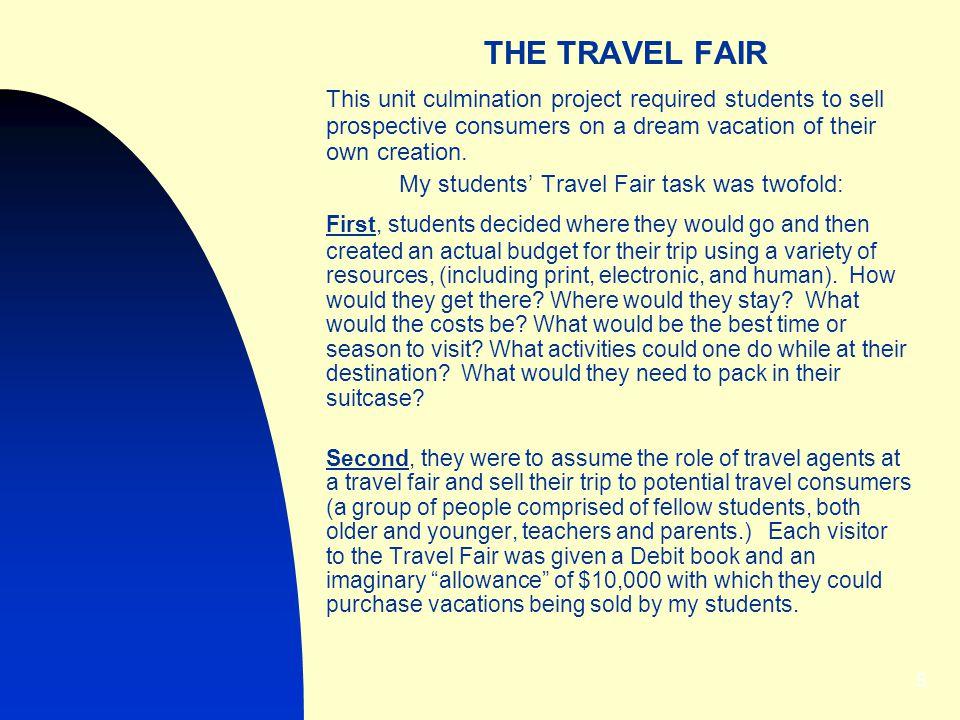 The Travel Fair THE TRAVEL FAIR