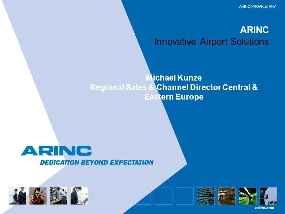 ARINC Innovative Airport Solutions