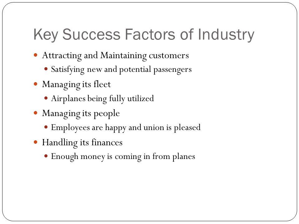 Key Success Factors of Industry