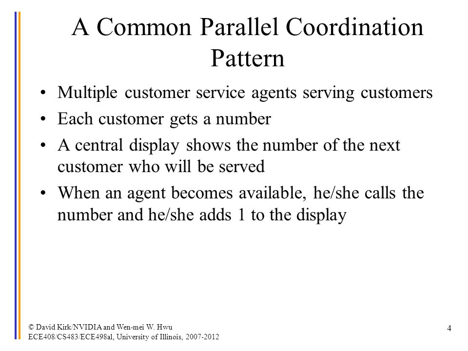 A Common Parallel Coordination Pattern