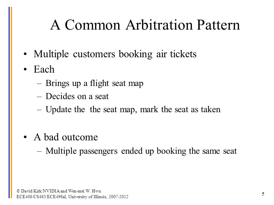 A Common Arbitration Pattern