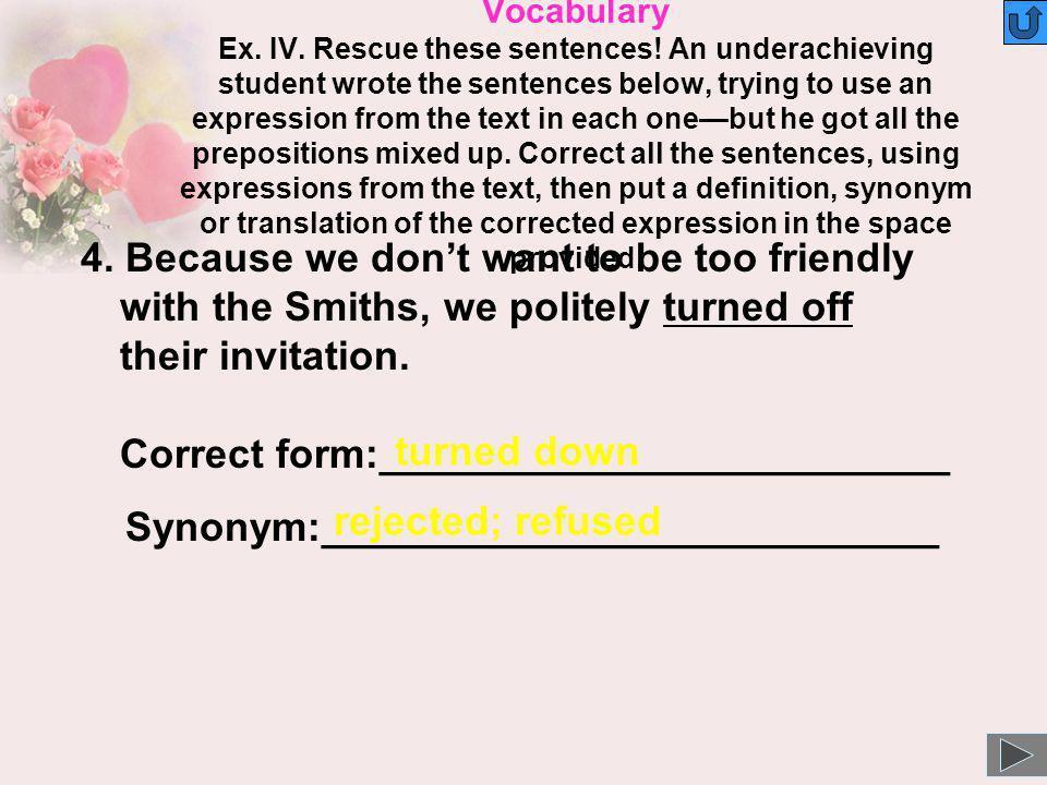 Synonym:___________________________