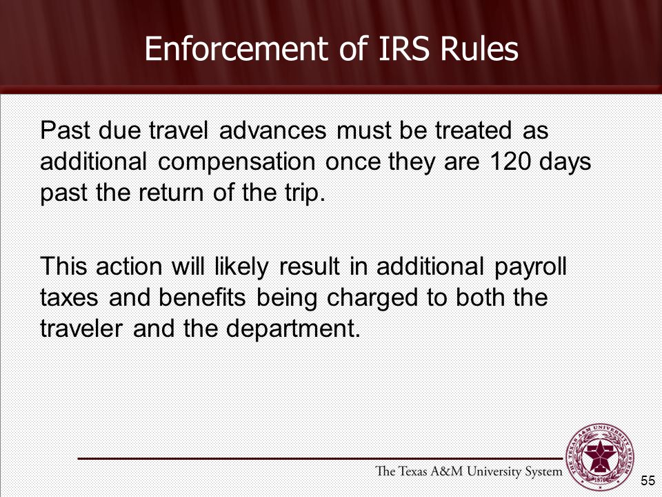 Enforcement of IRS Rules