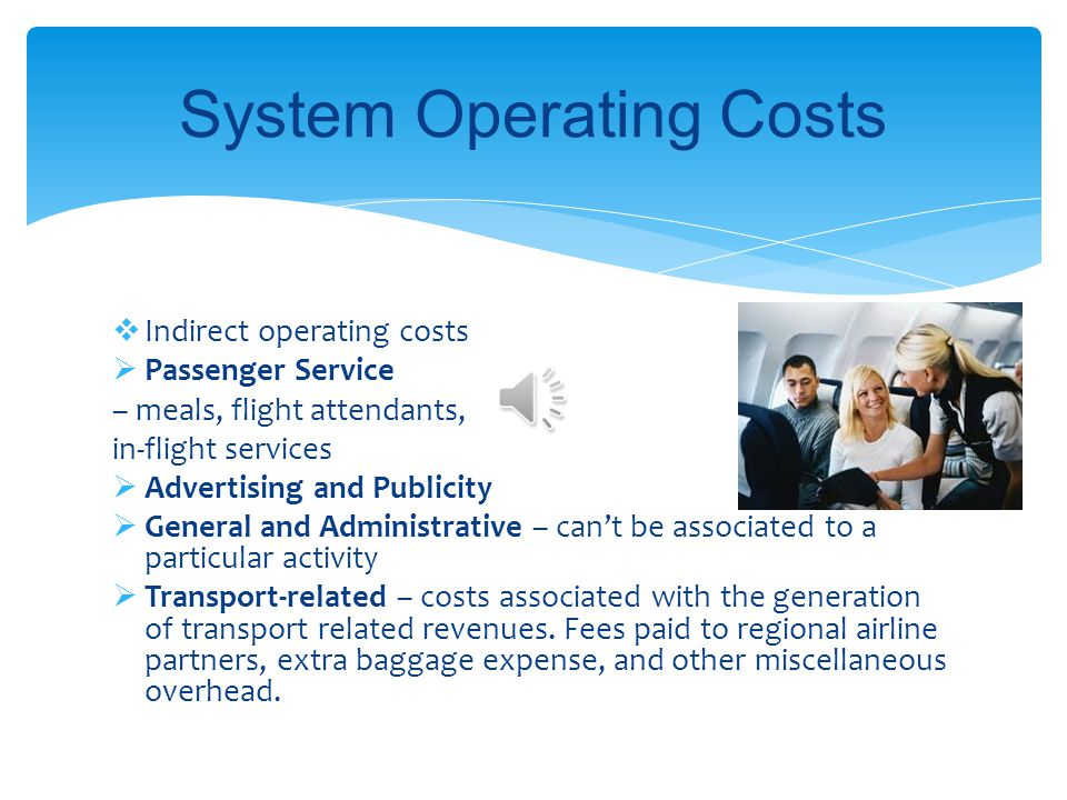 System Operating Costs