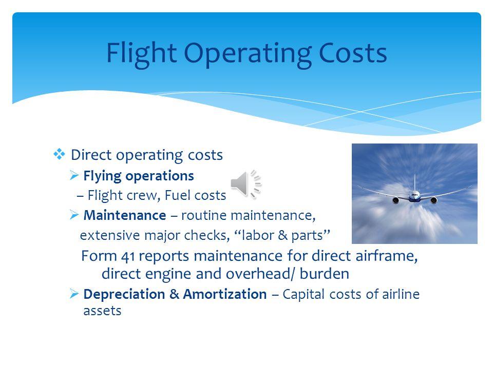 Flight Operating Costs