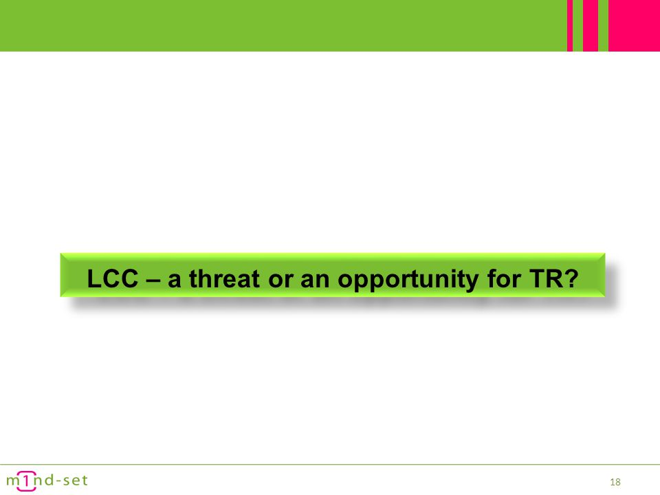 LCC – a threat or an opportunity for TR
