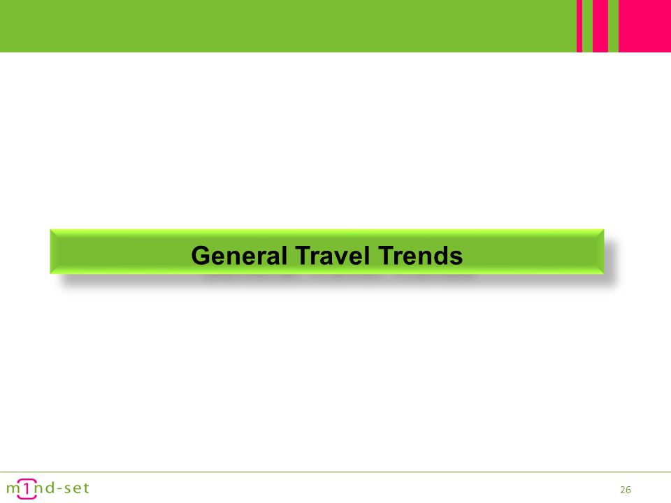 General Travel Trends