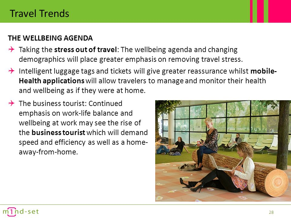 Travel Trends THE WELLBEING AGENDA