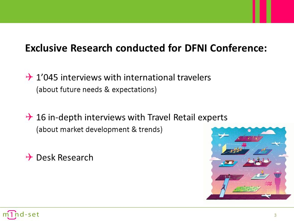 Exclusive Research conducted for DFNI Conference: