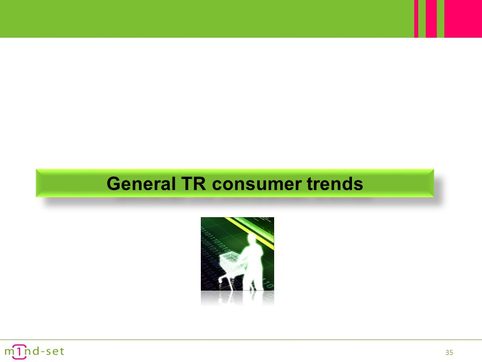 General TR consumer trends