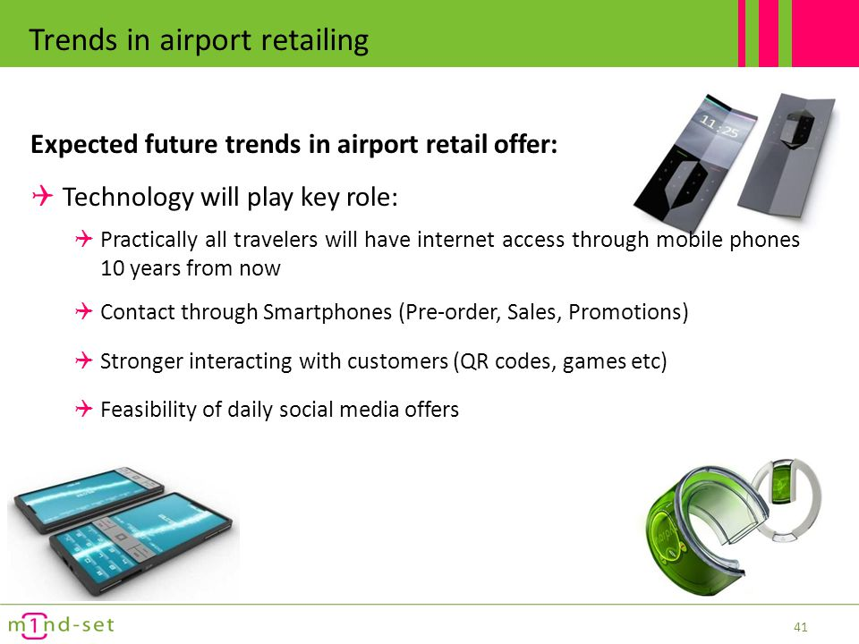 Trends in airport retailing