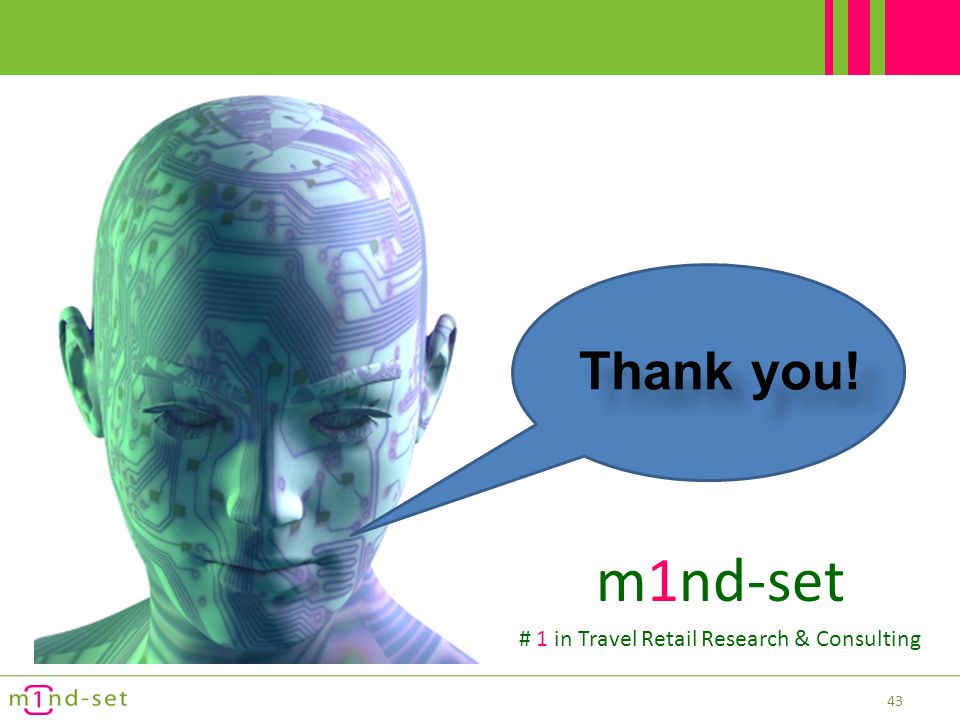 # 1 in Travel Retail Research & Consulting