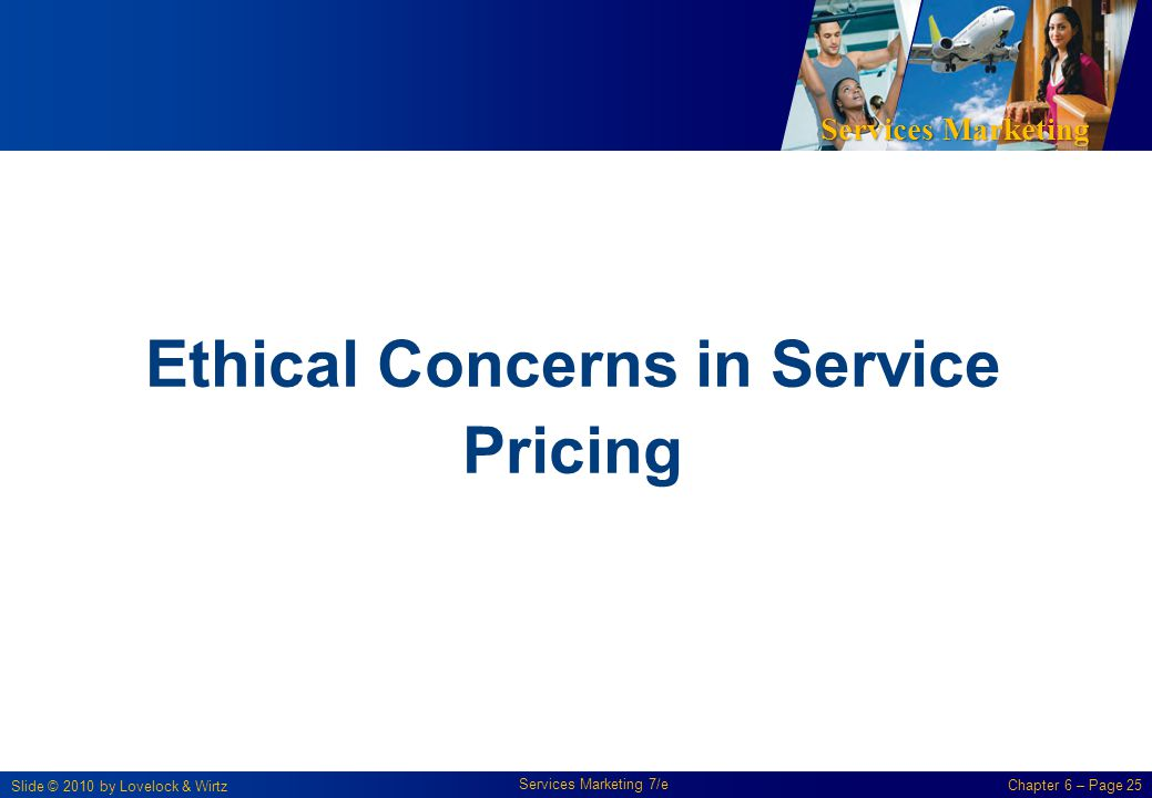 Ethical Concerns in Service Pricing