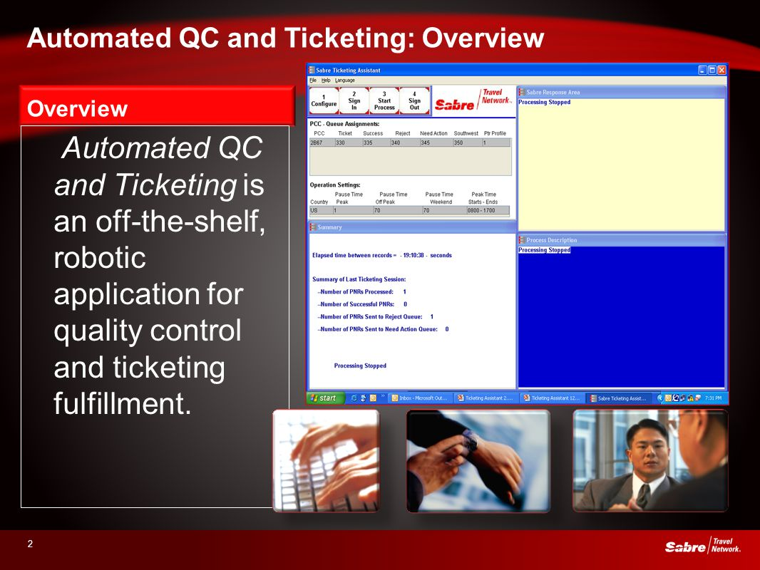 Automated QC and Ticketing: Overview