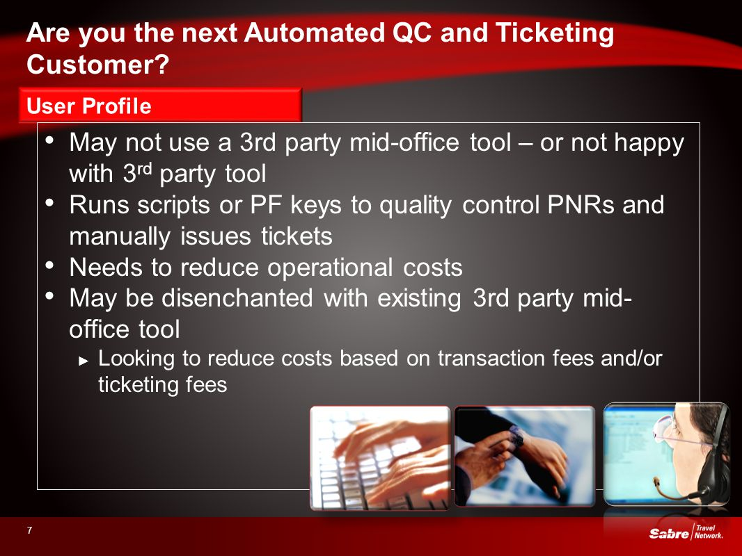 Are you the next Automated QC and Ticketing Customer