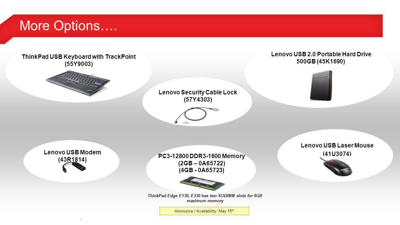 More Options…. Lenovo USB 2.0 Portable Hard Drive