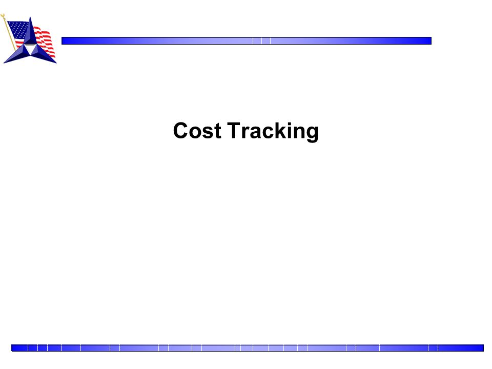 Cost Tracking