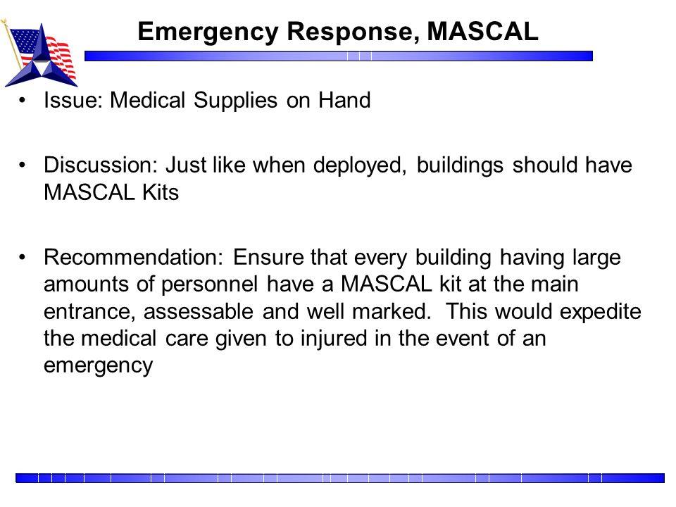 Emergency Response, MASCAL