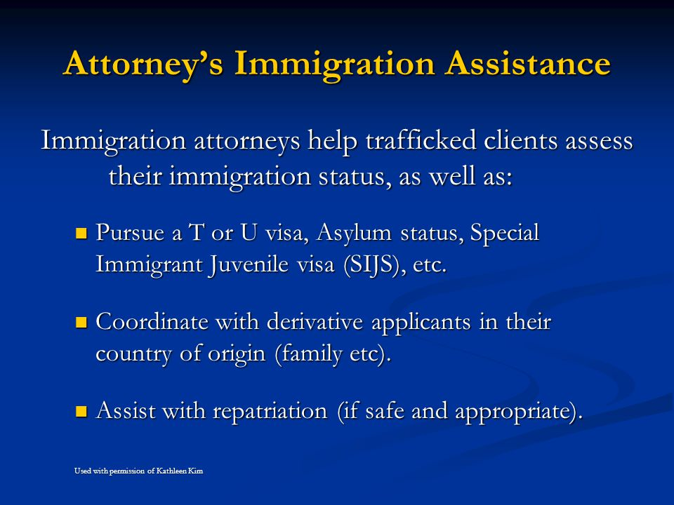 Attorney's Immigration Assistance