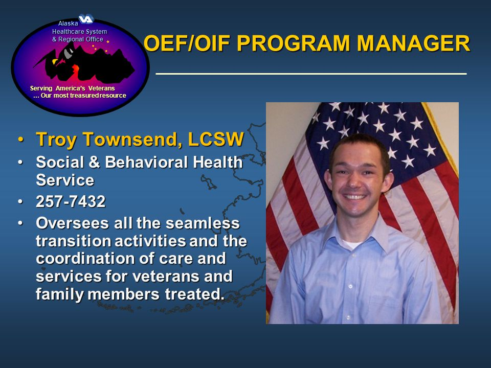 OEF/OIF PROGRAM MANAGER
