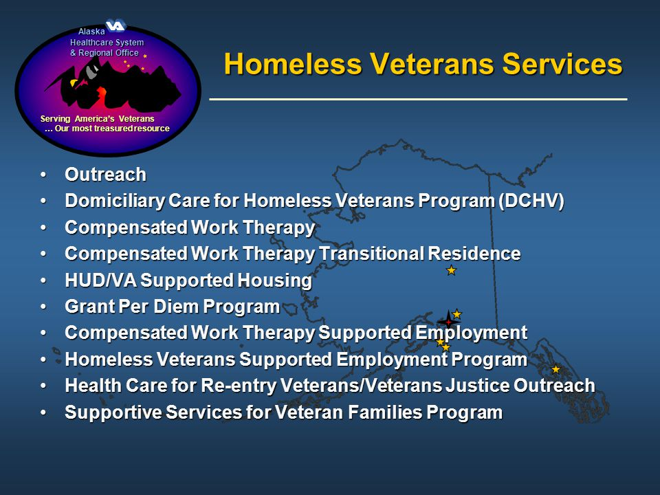 Homeless Veterans Services