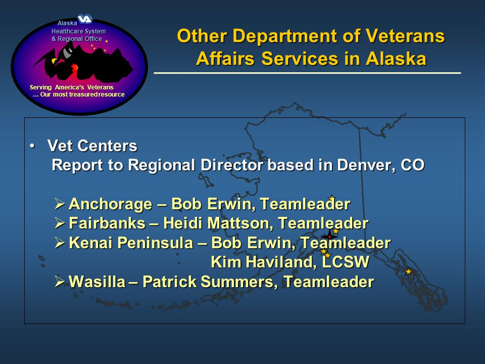 Other Department of Veterans Affairs Services in Alaska