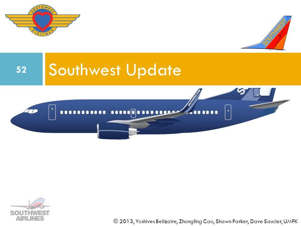 Southwest Update © 2013, Yoshives Belizaire, Zhongling Cao, Shawn Parker, Dave Saucier, UMFK