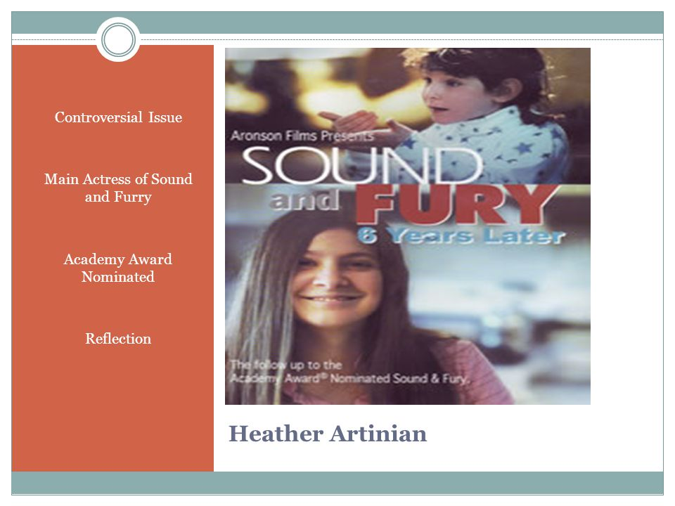 Heather Artinian Controversial Issue Main Actress of Sound and Furry