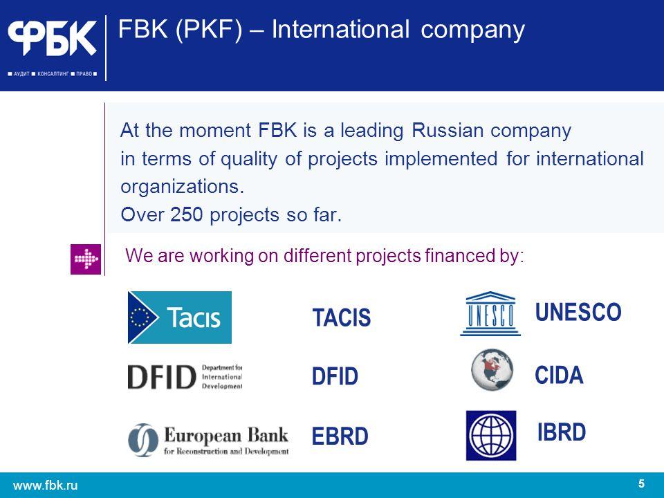 FBK (PKF) – International company