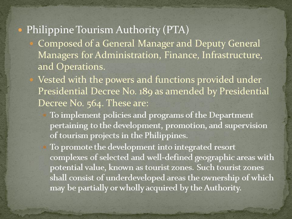 Philippine Tourism Authority (PTA)