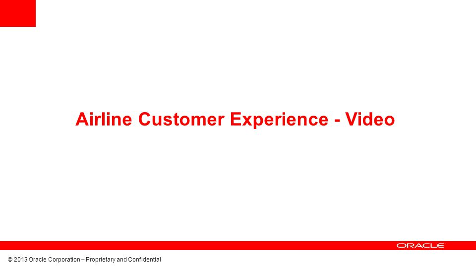 Airline Customer Experience - Video