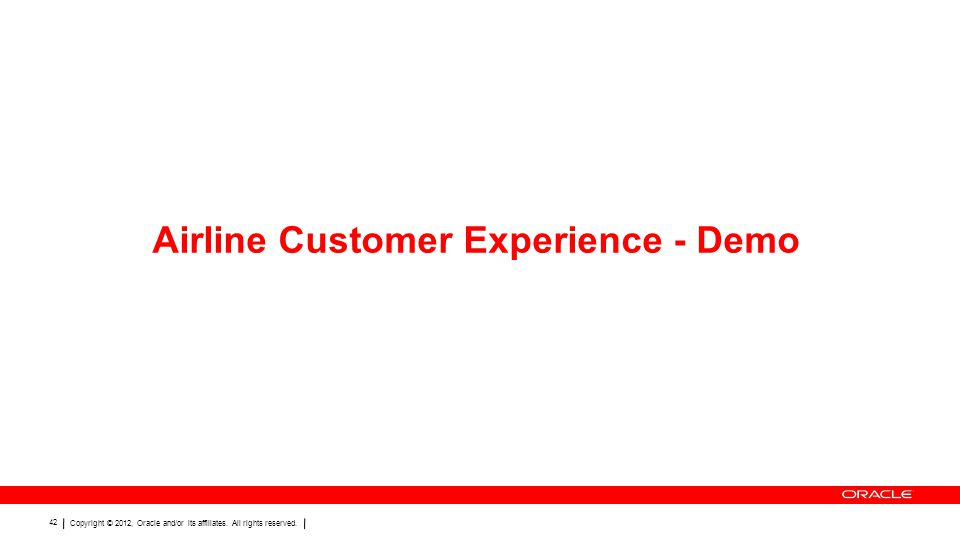 Airline Customer Experience - Demo