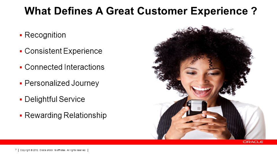 What Defines A Great Customer Experience