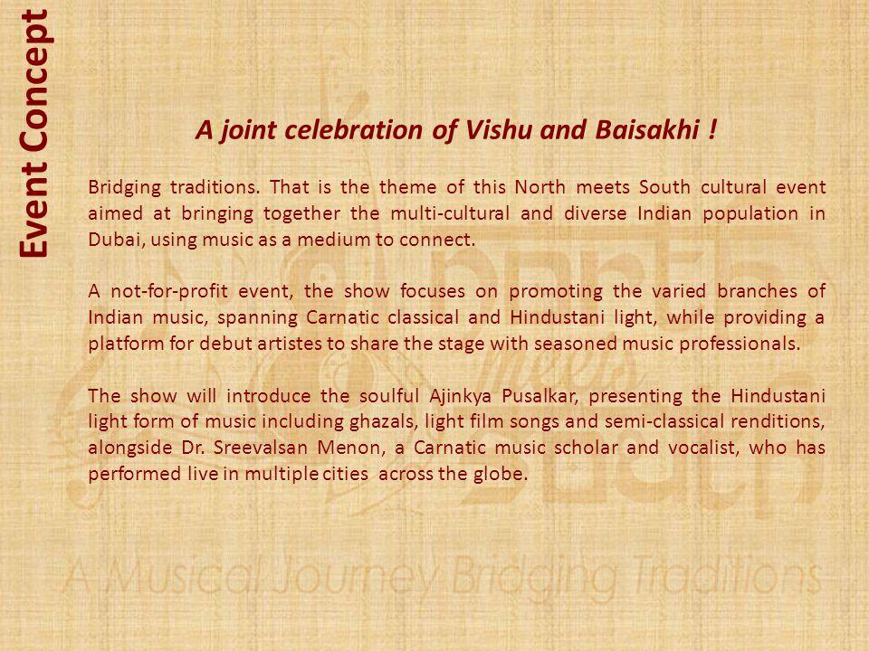 A joint celebration of Vishu and Baisakhi !