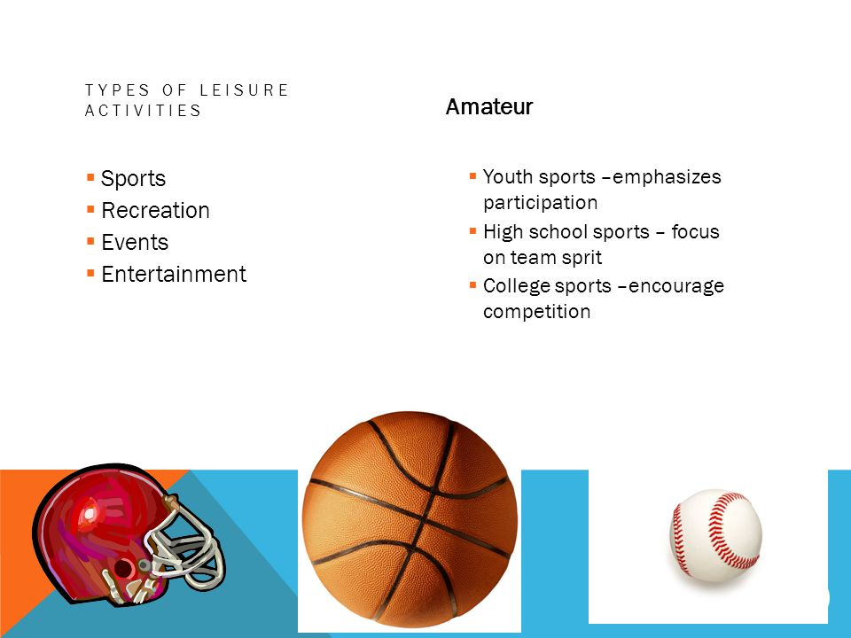 Amateur Sports Recreation Events Entertainment