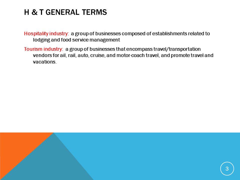 H & T General Terms