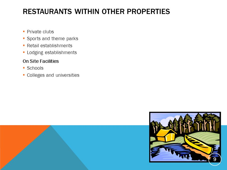 Restaurants within other properties