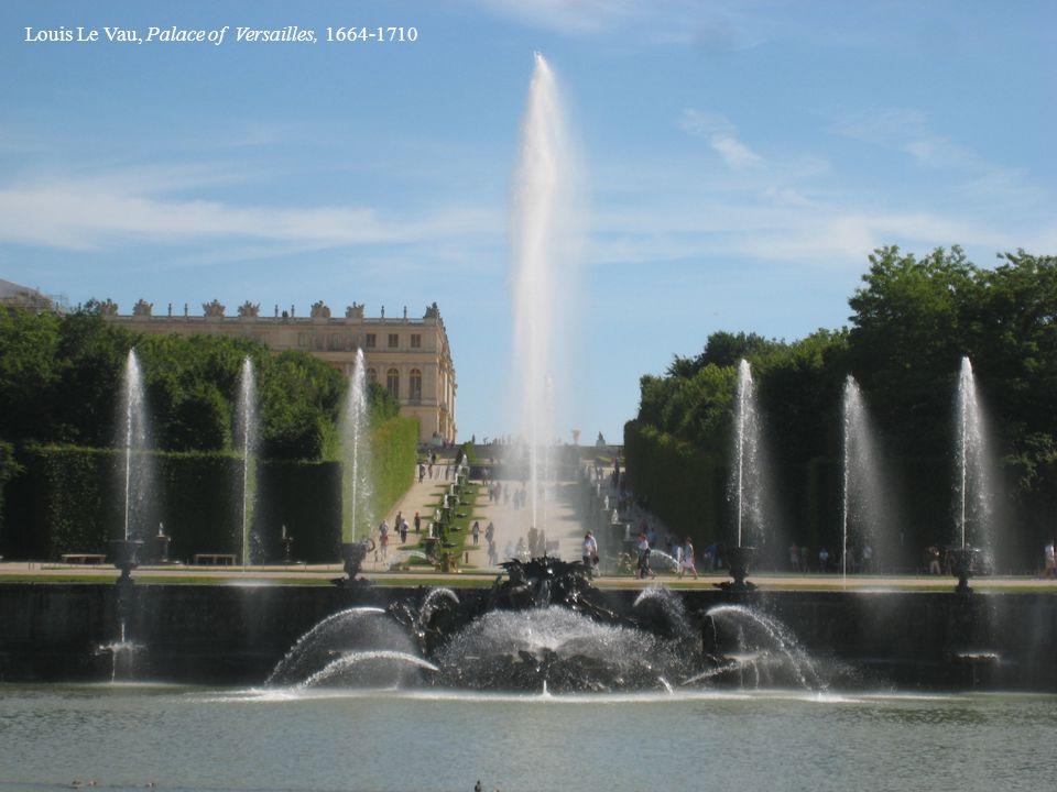 Louis Le Vau, Palace of Versailles, 1664-1710