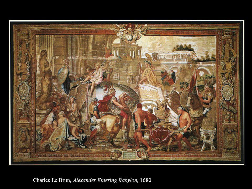 Charles Le Brun, Alexander Entering Babylon, 1680