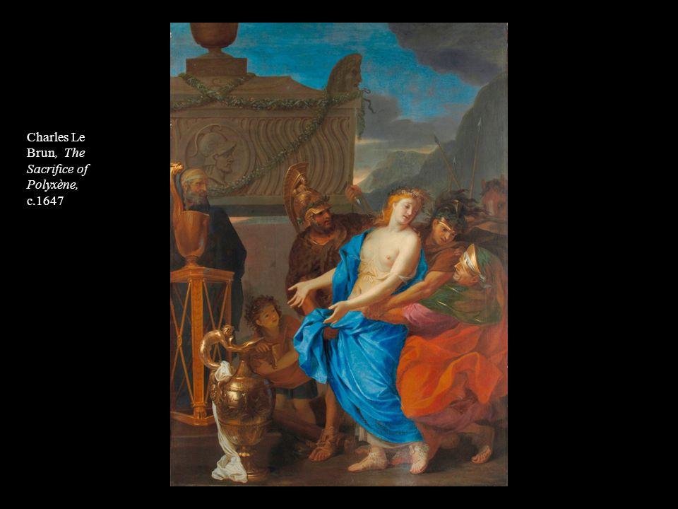 Charles Le Brun, The Sacrifice of Polyxène,