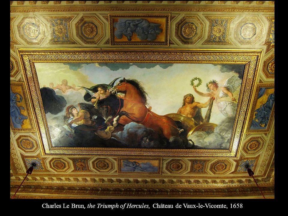 Charles Le Brun, the Triumph of Hercules, Château de Vaux-le-Vicomte, 1658