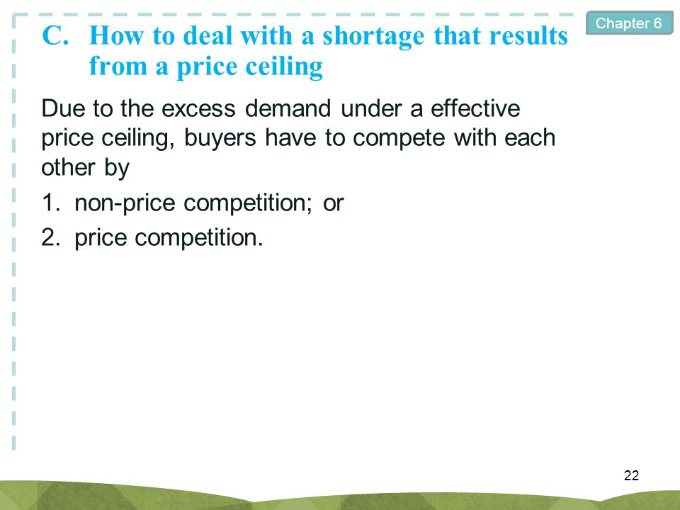 C. How to deal with a shortage that results from a price ceiling