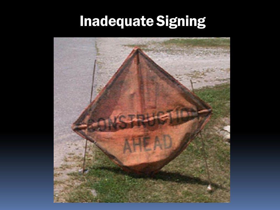 Inadequate Signing
