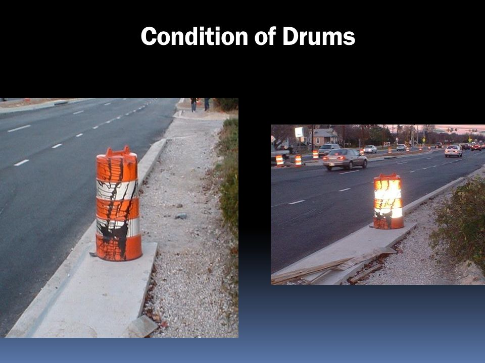 Condition of Drums 195