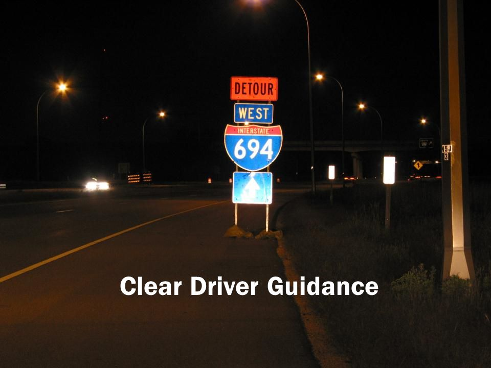 Clear Driver Guidance 209