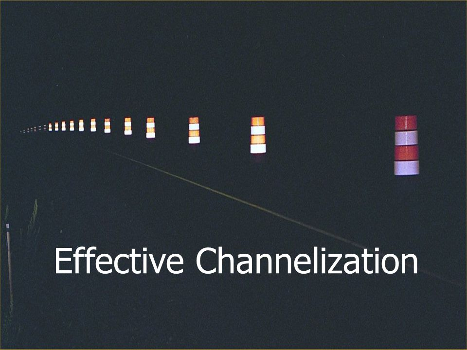Effective Channelization