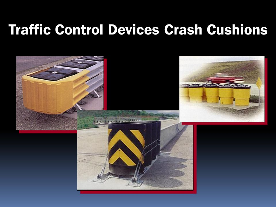 Traffic Control Devices Crash Cushions