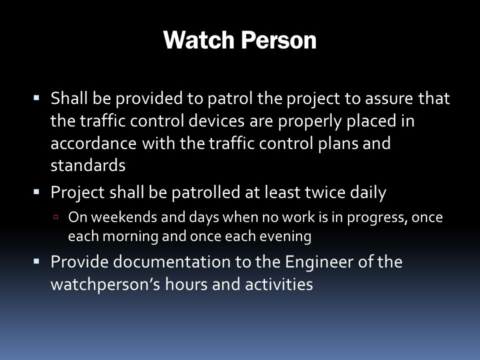 Watch Person