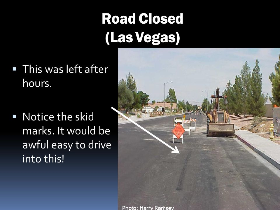 Road Closed (Las Vegas)